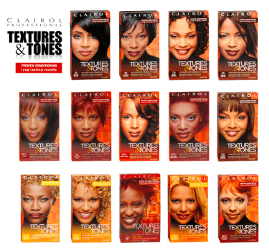 clairol textures and tones