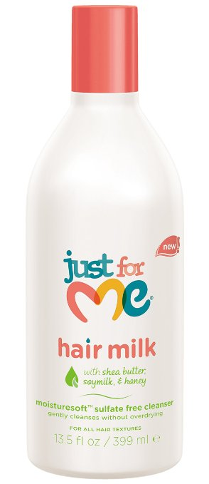 Just For Me Hair Milk Sulfate Free Cleanser, 13.5 oz