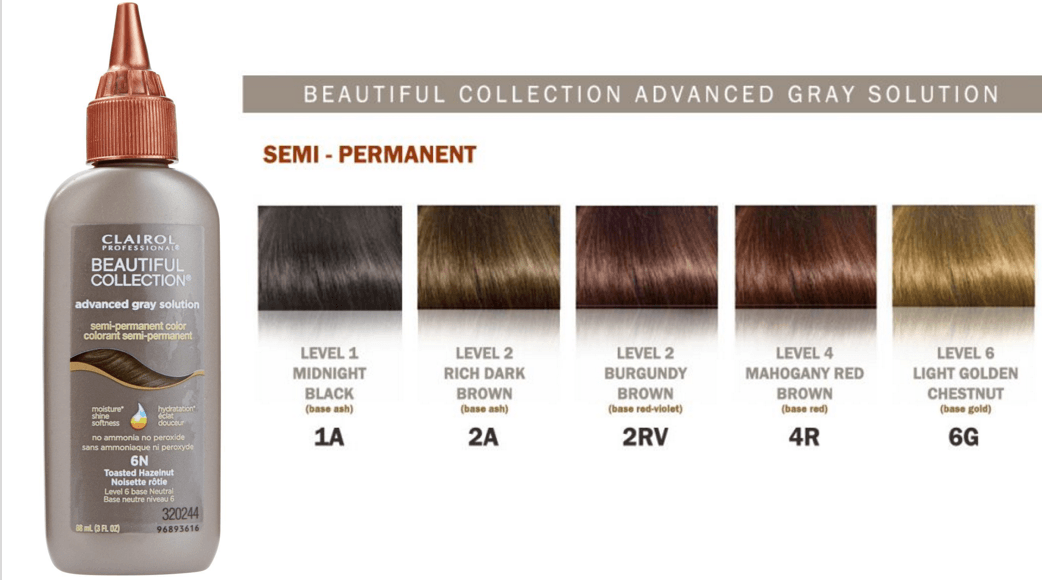 Clairol Advanced Gray Solution Semi Permanent Color