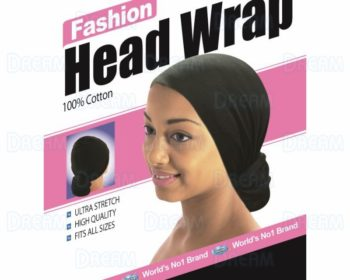 Fashion Head Wrap-Black