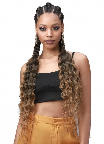 Bobbi Boss – King Tip Ocean Wave Braid Hair 3X 28″